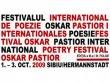 """Festivalul Internaţional de Poezie """"Oskar Pastior"""", ediţia a III-a, Sibiu 2009"""