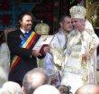 Patriarhul Daniel l-a decorat pe primarul Tudor Ștefănie