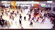 VIDEO Zeci de tineri au dansat în Aeroportul Avram Iancu din Cluj. Motivul? Citește-l mai jos