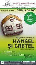 """""""Hänsel și Gretel"""", povestea muzicală după fraţii Grimm, la Opera Naţională Română din Cluj-Napoca"""