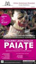 """""""Paiaţe"""", între râsete şi lacrimi, la Opera Naţională Română din Cluj-Napoca, miercuri, 2 aprilie 2014"""