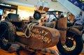 15 motociclete vintage, Harley şi Indian, expuse la Iulius Mall Cluj-Napoca