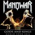 MANOWAR îţi oferă şansa să câştigi bilete pentru concertele din Gods and Kings World Tour 2016!