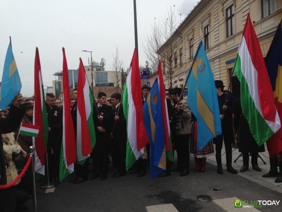 15 martie, serbat la Cluj fără incidente