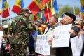 Chișinău: Zeci de mii de oameni au cerut, în stradă, schimbarea Guvernului