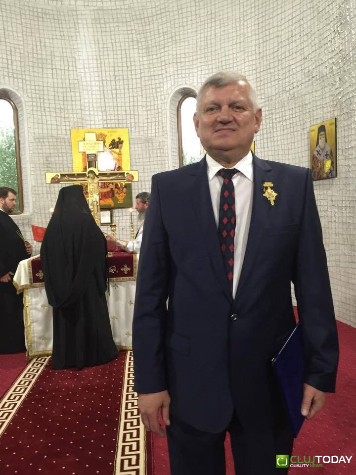 Deputatul Cornel Itu a primit înalta distincție CRUCEA TRANSILVANĂ