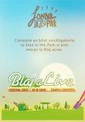 Cine cumpără un bilet neobligatoriu la Jazz in the Park poate merge şi la Blaj aLive Festival